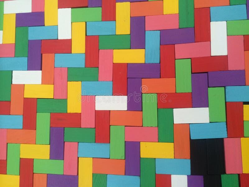Кирпичи цвета стоковое фото