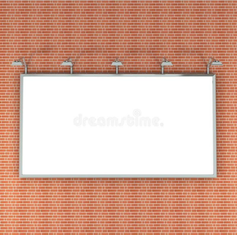 Download кирпичная стена афиши иллюстрация штока. иллюстрации насчитывающей рекламодателя - 18398800