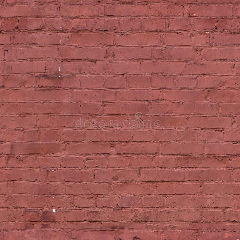 Кирпичная стена, безшовная текстура, плитка стоковое фото