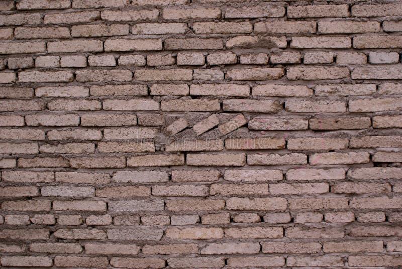 Кирпичная стена управляет текстурой текстуры матрицы серой модельной стоковая фотография rf