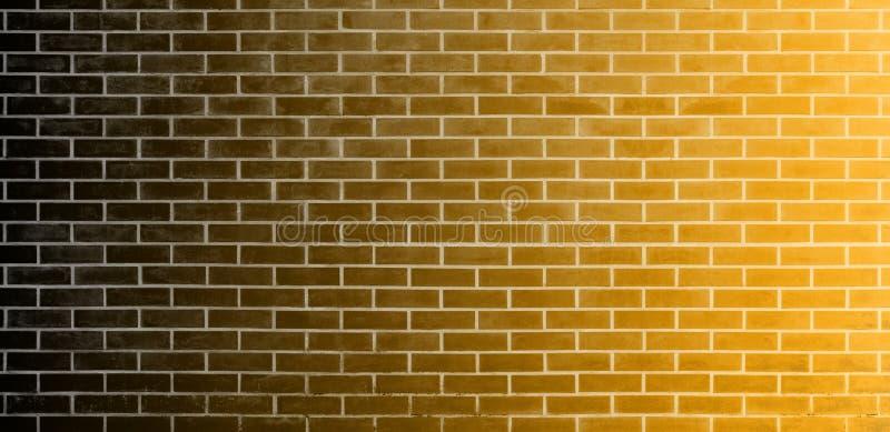 Кирпичная стена, черная предпосылка текстуры стены кирпичей Брауна для графического дизайна иллюстрация штока