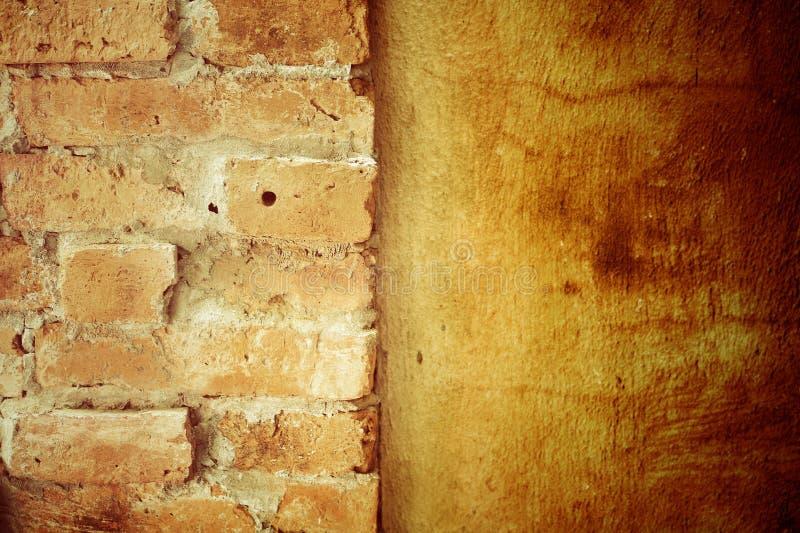Кирпичная стена. стоковые изображения rf