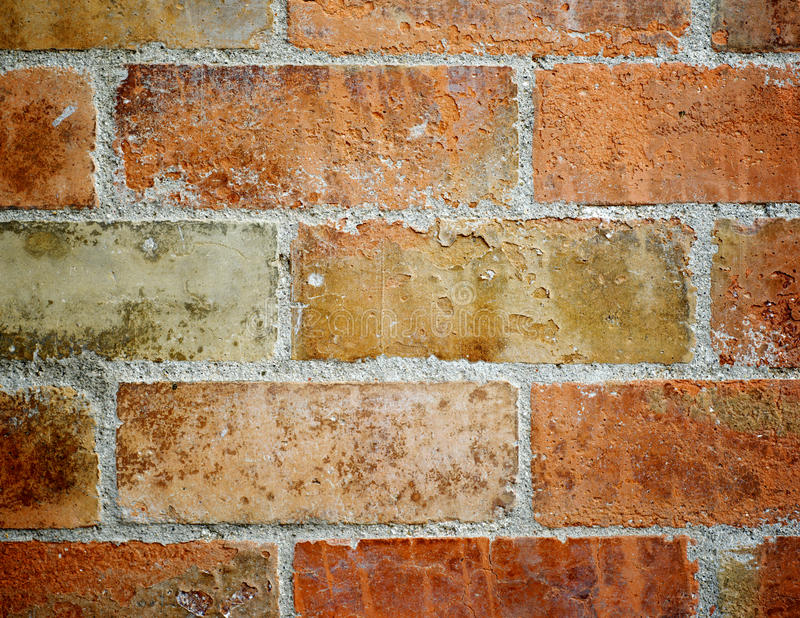 Download Кирпичная стена стоковое фото. изображение насчитывающей closeup - 37929278
