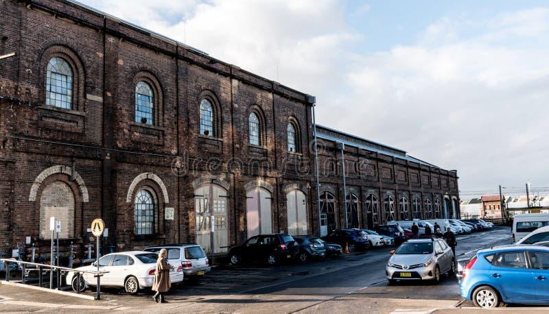 Кирпичные здания стоковая фотография rf