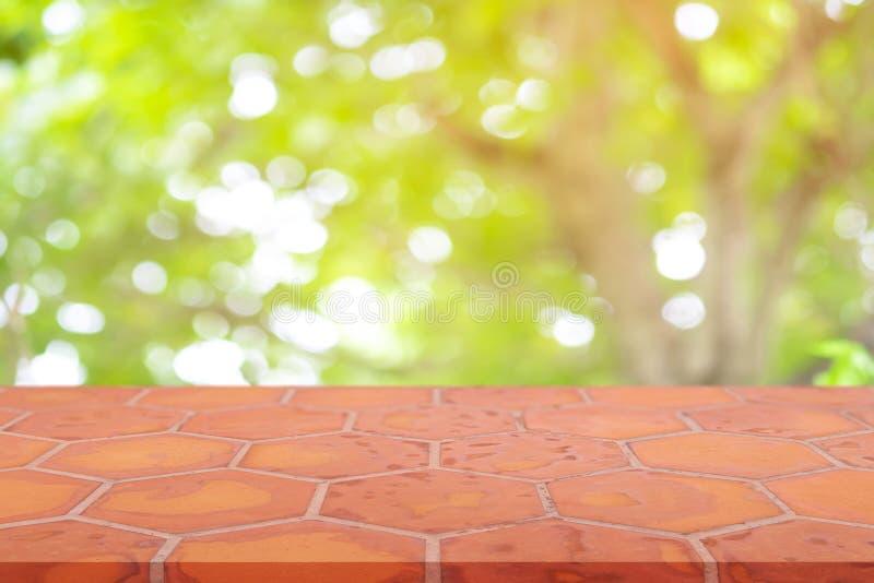 Кирпич понедельника перспективы пустой справляясь предпосылка нерезкости кирпича глины естественная, может быть используемое насм стоковая фотография rf