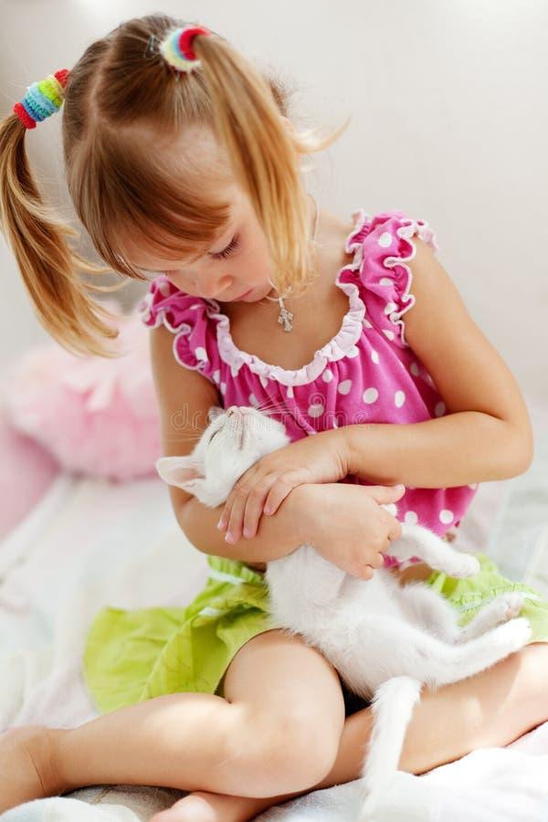 киска ребенка стоковое фото
