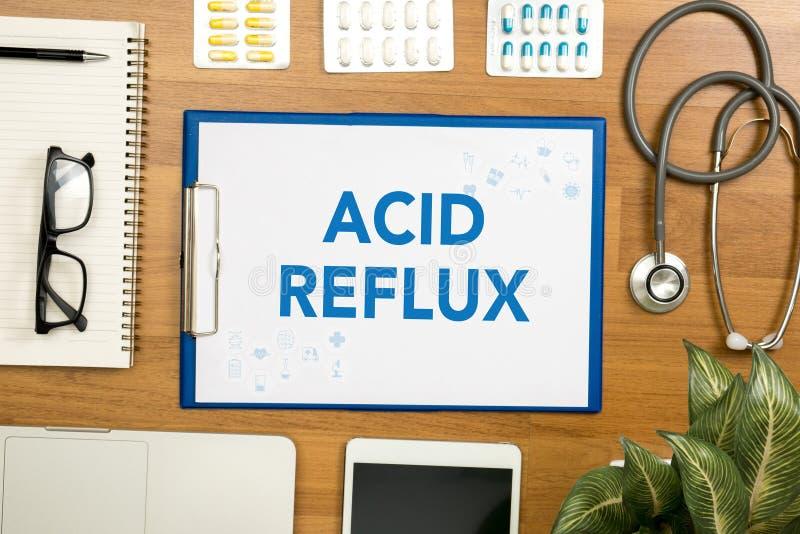 кисловочный рефлюкс стоковые фотографии rf