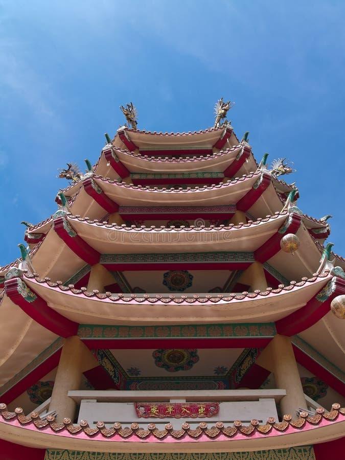 китайская башня стоковые изображения rf