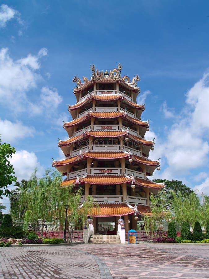 китайская башня стоковые изображения