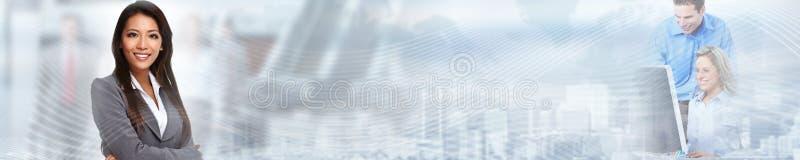 Китайская бизнес-леди стоковая фотография rf