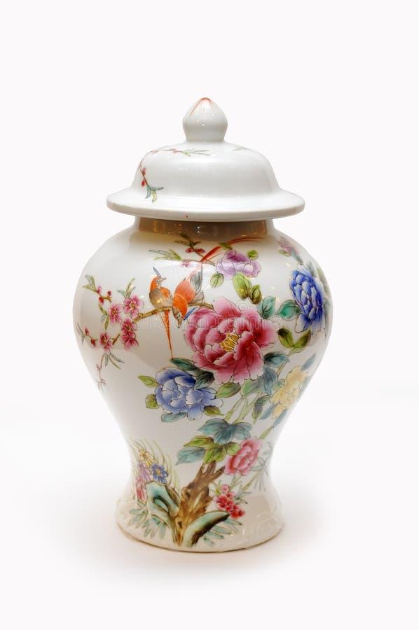 китайская ваза фарфора стоковое изображение rf