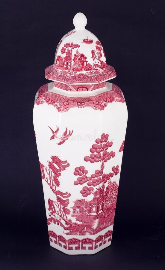 китайская ваза стоковая фотография