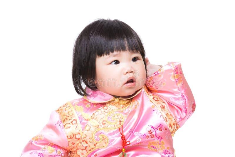 Download Китайская голова царапины ребёнка Стоковое Фото - изображение насчитывающей выражение, китайско: 37926742
