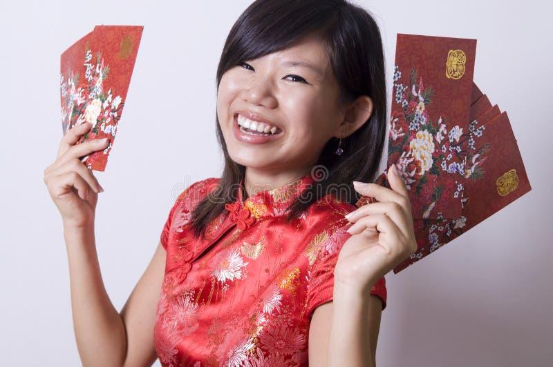 Китайская девушка стоковая фотография