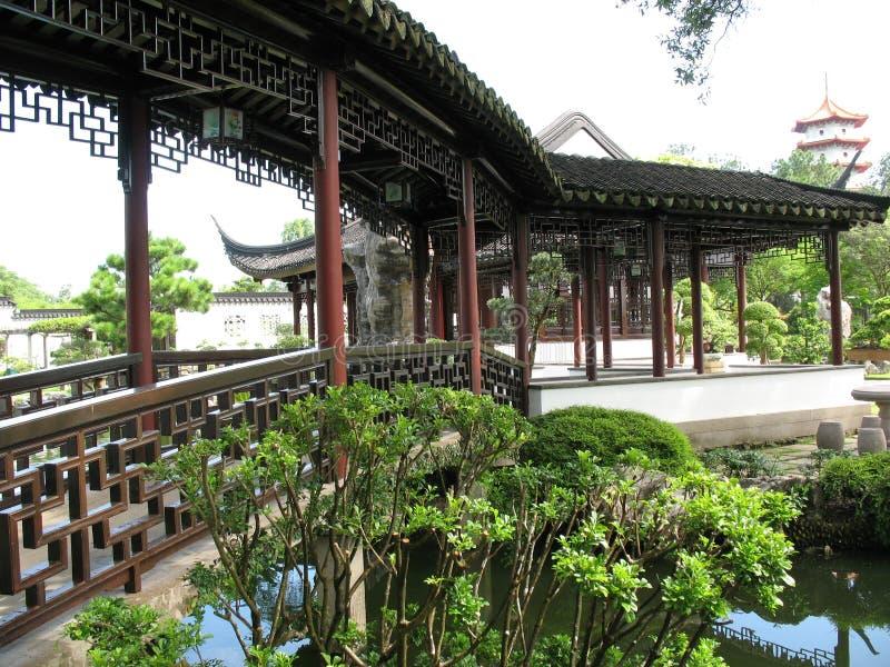 китайская дорожка стоковое изображение