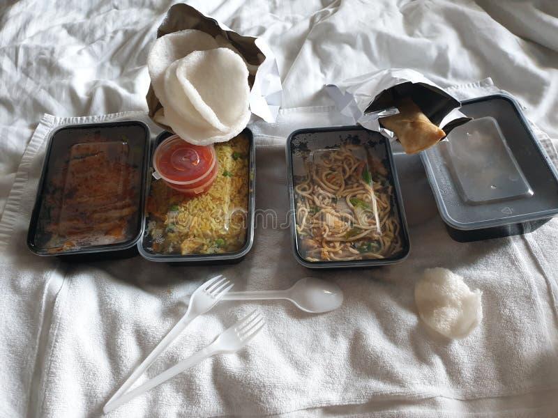 Китайская еда Афина стоковые фотографии rf