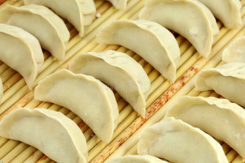 китайская еда вареников стоковые фотографии rf