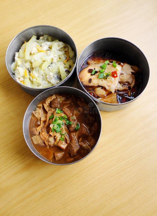 китайская еда поставки стоковая фотография rf