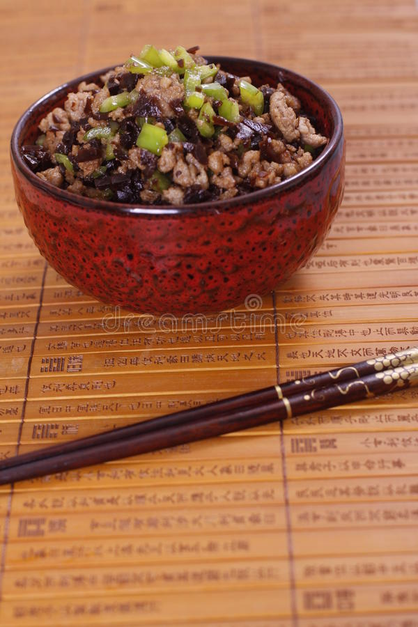 Китайская еда стоковое изображение rf