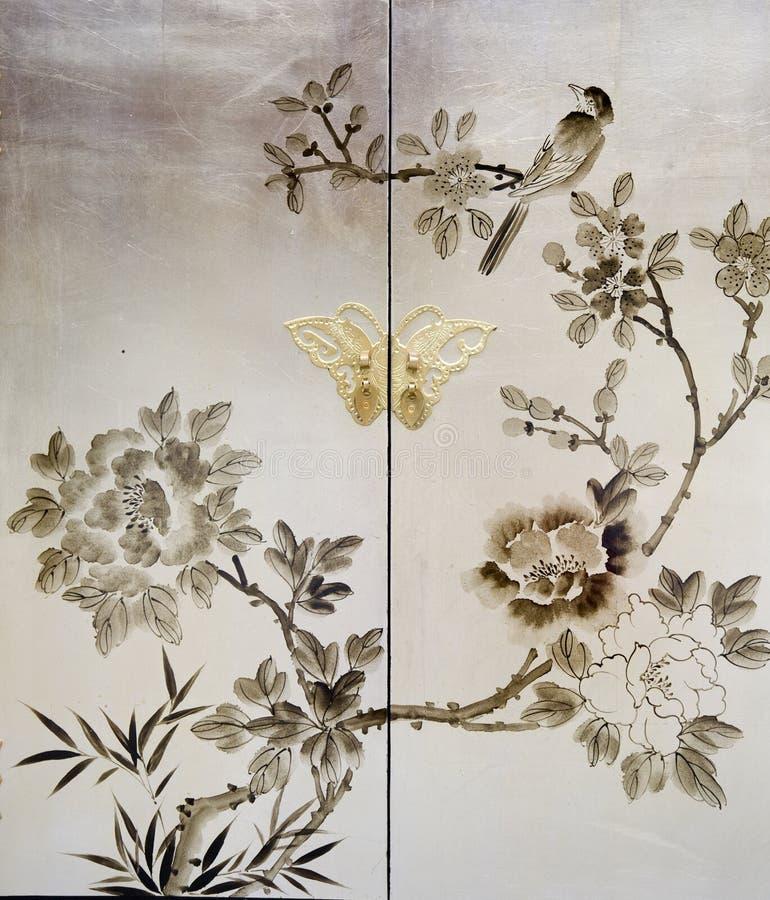 китайская картина стоковая фотография rf