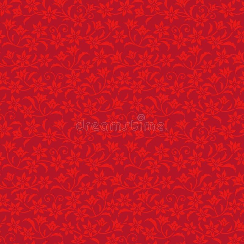 Download Китайская красная предпосылка Иллюстрация вектора - иллюстрации насчитывающей фарфор, картина: 33733642