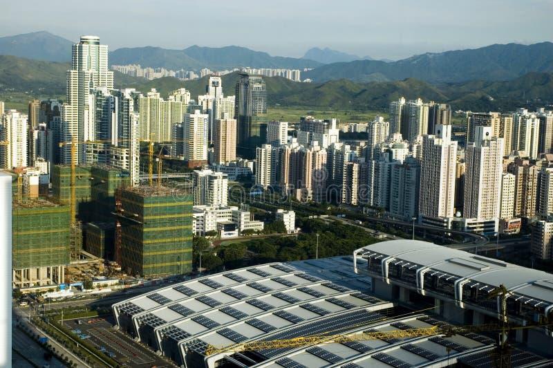 китайская метрополия стоковые фотографии rf
