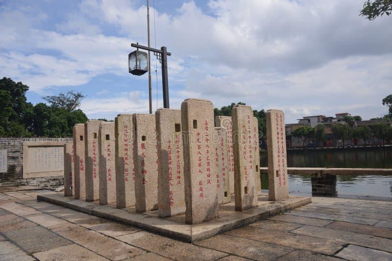 Китайская могила усыпальницы памятника иллюстрация штока