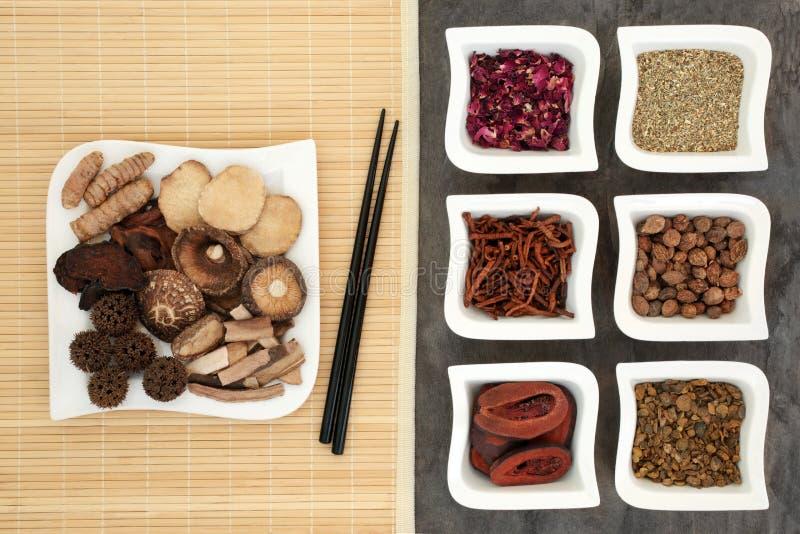 Download Китайская нетрадиционная медицина Стоковое Фото - изображение насчитывающей плодоовощ, естественно: 81802492