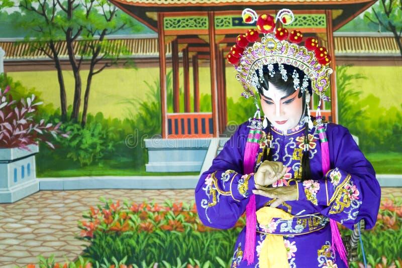 китайская опера стоковое фото