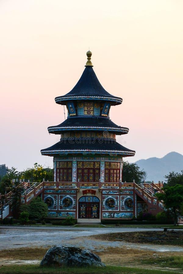 Китайская пагода стоковые фотографии rf