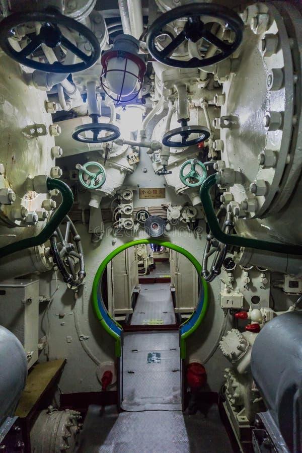 Китайская подводная лодка стоковые фотографии rf