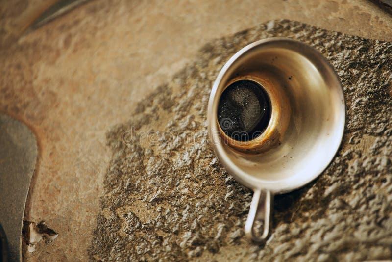 Китайская предпосылка камня фильтра чая стоковая фотография