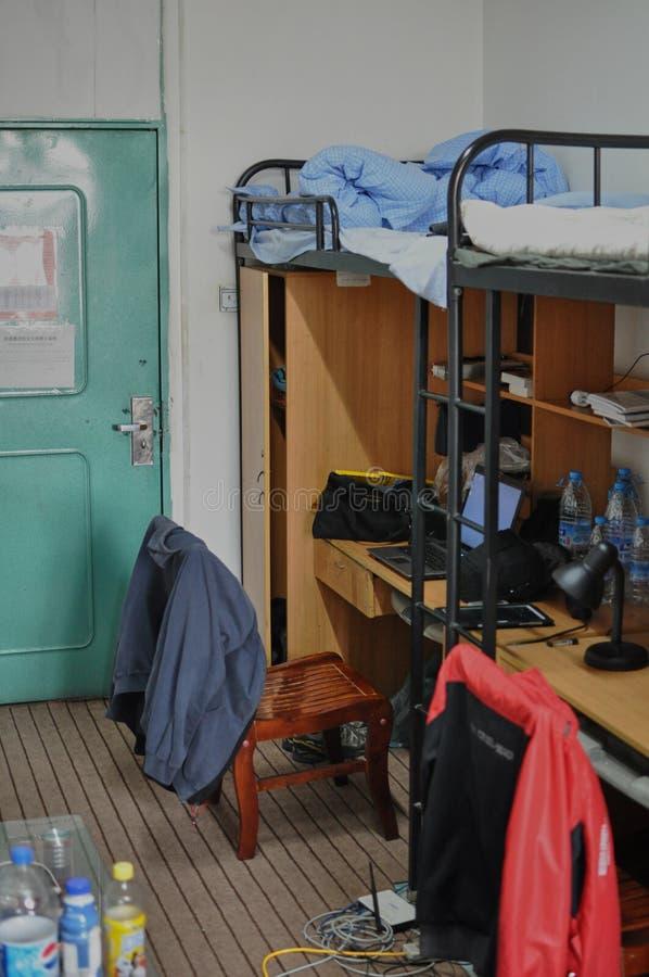 Китайская спальня, университет Ланьчжоу стоковое изображение rf
