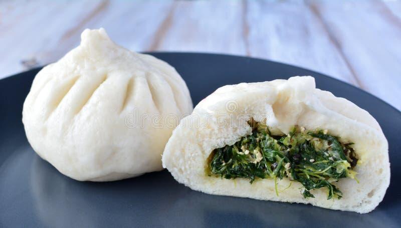 Китайская специальность еды, dumplin стоковая фотография rf