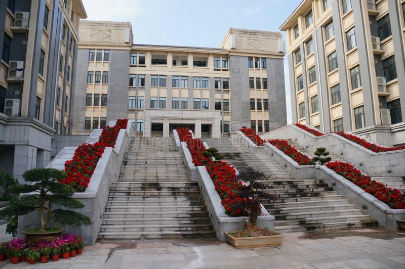 Китайская средняя школа стоковое фото rf