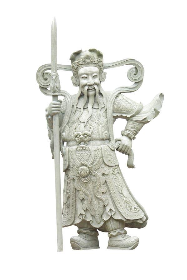 Китайская статуя стоковое изображение