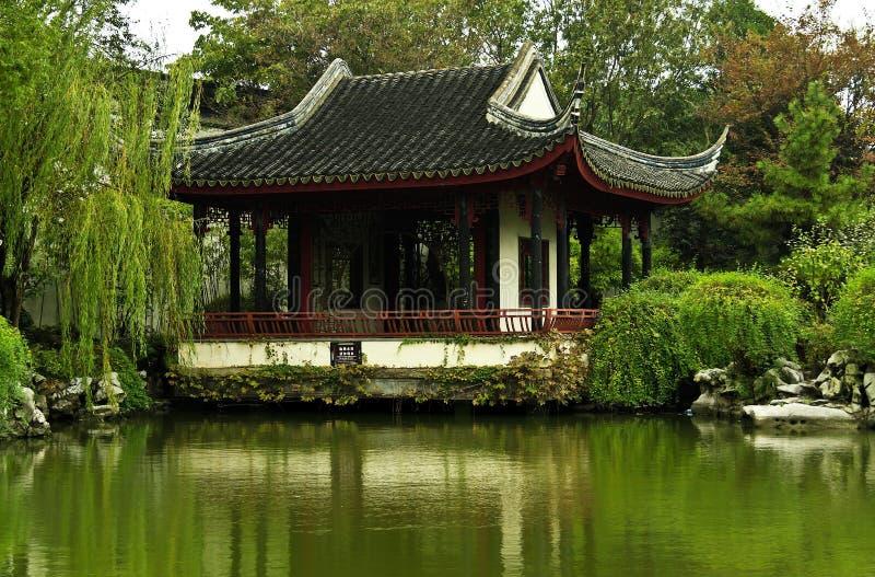 Китайская традиционная архитектура стоковые изображения