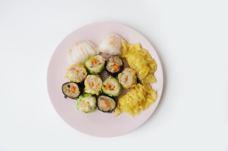 китайская тусклая сумма еды стоковые фотографии rf