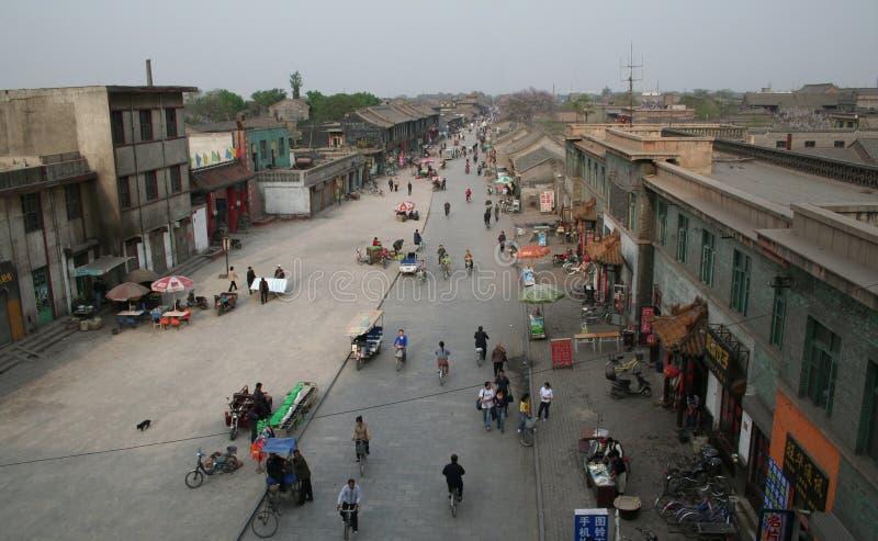 китайская улица стоковое фото rf