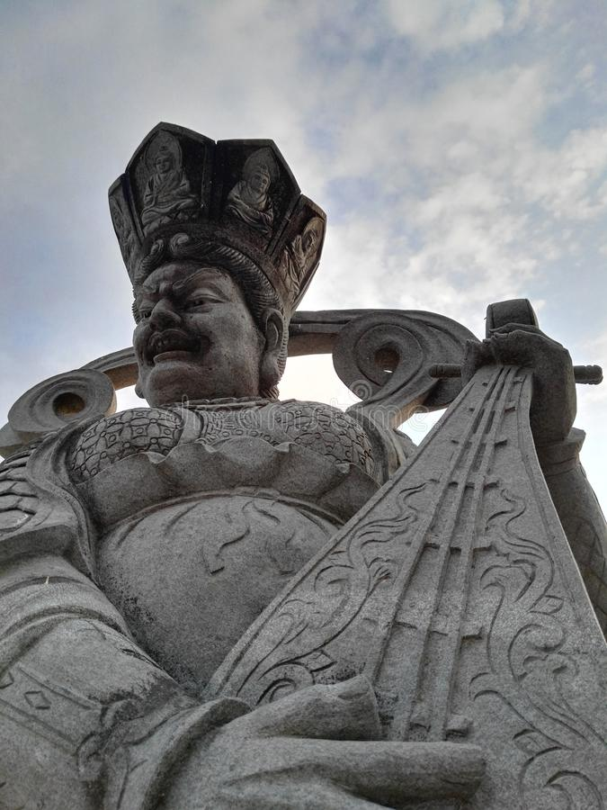 китайские боги стоковые изображения