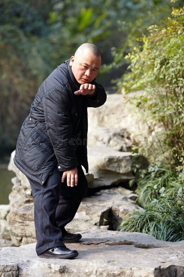 Китайские боевые искусства стоковая фотография