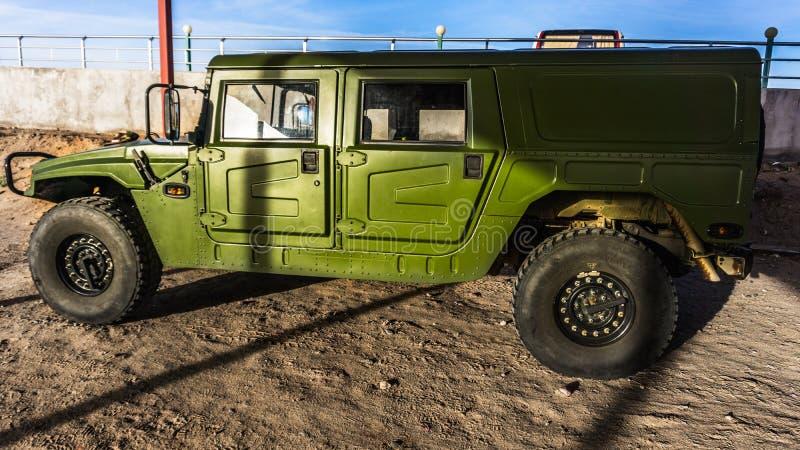 Китайские военные транспортные средства стоковые фотографии rf