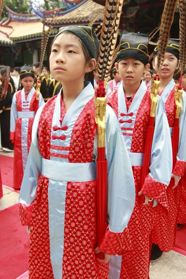 китайские одежды стоковое изображение rf