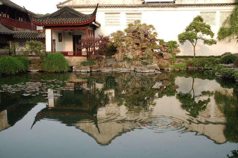 китайские павильоны стоковые изображения rf