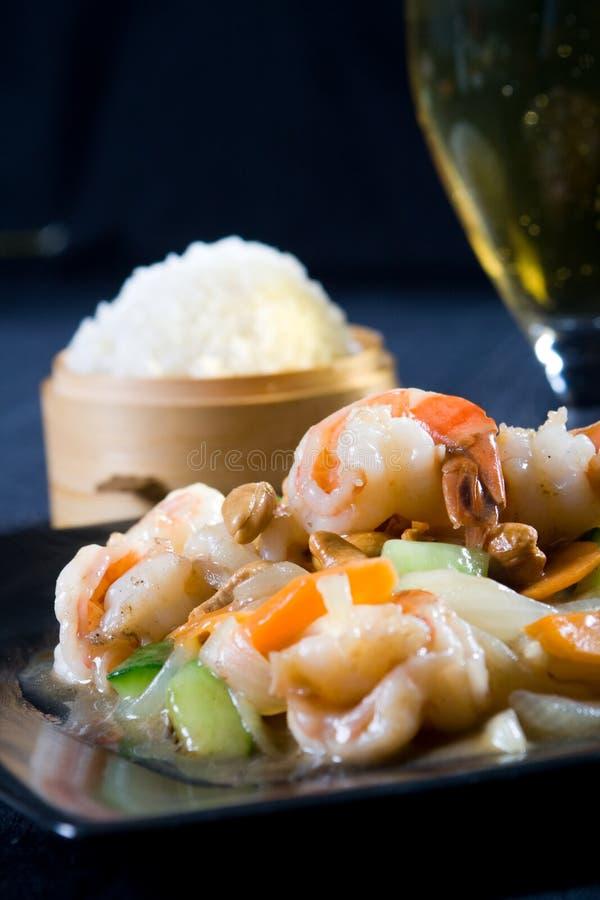 китайские продукты моря стоковые фотографии rf