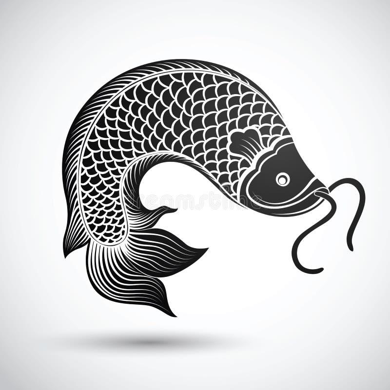 Китайские рыбы бесплатная иллюстрация