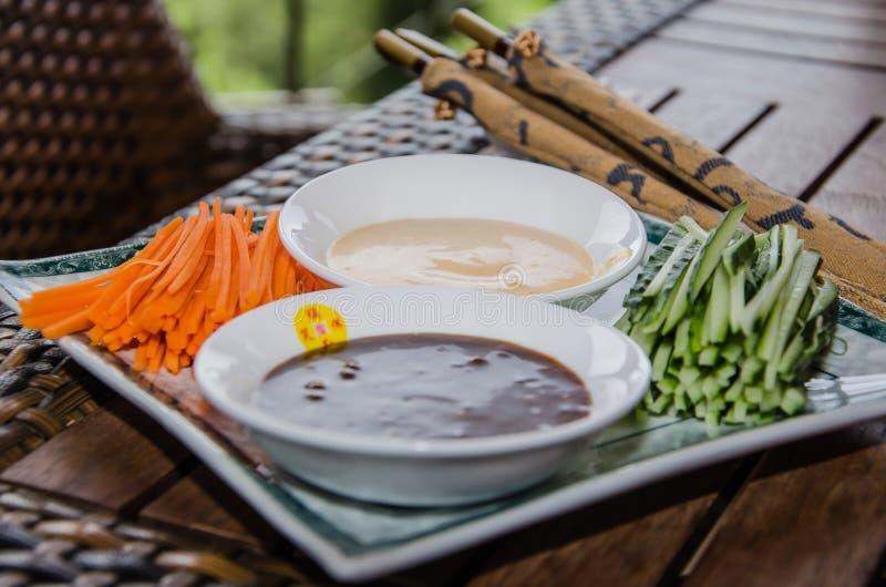 Китайские соусы стоковое изображение