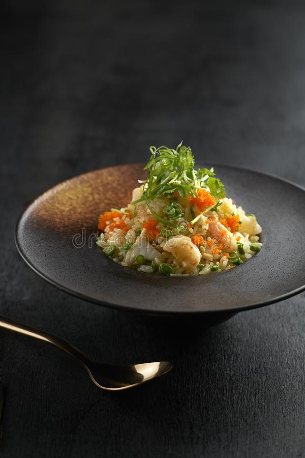 Китайские тайские жареные рисы стоковое изображение rf