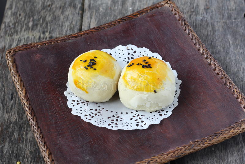 Китайские традиционные облупленные торты стоковое фото