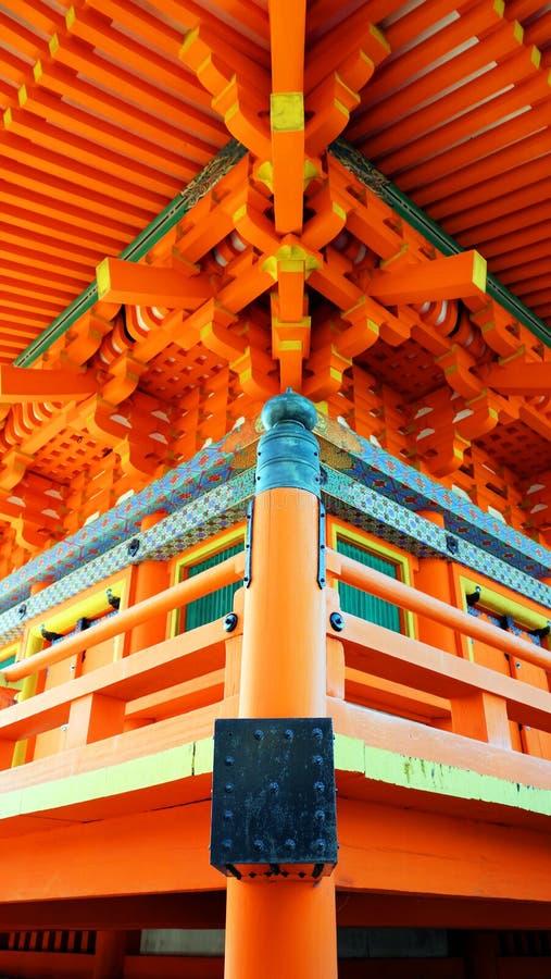 Китайский архитектурный стиль стоковые фотографии rf